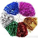 1 paire cheerleading pom poms, prix / 2 pièces, 0.025 kg / pièce, 6 couleurs à choisir