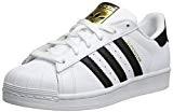 adidas Originals C77154_Superstar Originals, Basses Mixte Enfant - - White (Footwear White/Core Black/Footwear White), 40 EU
