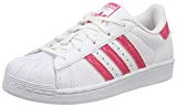 adidas Superstar, Baskets Mixte Enfant, Weiß, XX