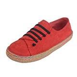 Amlaiworld Femmes Chaussures Plates Molles Chaussures en Cuir de DaimFfemelle Bottes à Lacets, Sandales Femmes