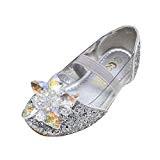 Amur Leopard Enfant Fille Chaussure Reine des Neiges Princesse Déguisements Diamant Sandale Crystale