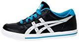 Asics AARON GS Chaussures Mode Sneakers Enfant Noir Bleu Blanc