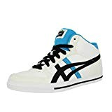 Asics AARON MT GS Chaussures Mode Sneakers Enfant Cuir Blanc