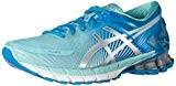 Asics Gel-Kinsei 6, Chaussures de Course pour Entraînement sur Route Femme, Bleu