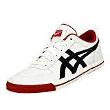 Asics Onitsuka Tiger AARON GS Chaussures Mode Sneakers Homme Noir Blanc Rouge
