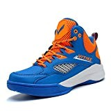 Baskets de basket-ball pour enfants Chaussures de sport Chaussures de basket-ball respirantes pour étudiants Chaussures de course antidérapantes