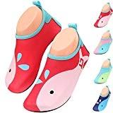 BOLOG Enfant Chaussures D'eau Chaussures Bébés Chaussures de Natation Garçons Filles Chaussures Plage Piscine Surfer Yoga Unisexe Natation Plongée Aqua ...