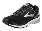Brooks Chaussures de Gymnastique Ghost 10pour Homme - Noir - Black/Silver/Ebony, 48.5 EU