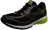Brooks Ghost 10 GTX, Chaussures de Running Homme, Black/Ebony/Limepopsicle