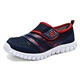 CCZZ Garçons Filles Chaussure de Sport Outdoor Maille Respirante Chaussures de Plage Casual Antidérapant Été Sandales Souples enfant Baskets