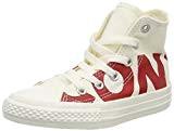 Converse Chuck Taylor CTAS Hi Canvas, Chaussures de Fitness Mixte Enfant, Gris