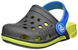 Crocs Electro III Clog Kids, Sabots Mixte Enfant, Gris