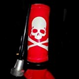 Cross Bones Skull Mountain High Quality vélo lumineux Autocollant de vélos Autocollant Stickers