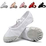 DoGeek Chaussure de Ballet Ballerine Fille Chaussure de Danse Chaussures de Pilates Chaussures de Yoga Gymnastique Split Plate Ballet Doux ...