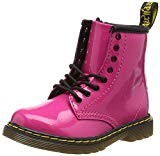 Dr. Martens 1460 T, Chaussures Bateau Fille, Rose (Hot Pink 670), 25 EU