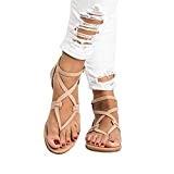 Été Femmes Dames Sandales Croix Sangle Plate Cheville Romaine Cusual Chaussures - Peep Clip Toe Chaussures Retourner Flops Plate Chaussures ...