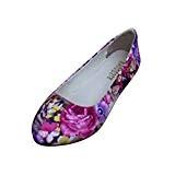 Femme Filles Chaussures de Style Chinois&Fleurie Slip on Espadrilles Confortable Et Respirant Chaussures Plates Été