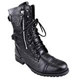Rangers militaire femme Fashion Shoes