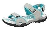 Femmes PDQ Rose Gris Aventure Randonnée Marche Sport Velcro Sandales Pointure 4 5 6 7 8