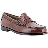 G.H. Bass Co. Mens Weejuns Larson Brogue Mid Brown Leather Shoes 41 EU