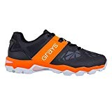 Grays Hockey Traction Shoes - Black/Orange
