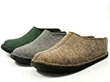 Haflinger Smily, Chaussons Mules Mixte Adulte, Vert