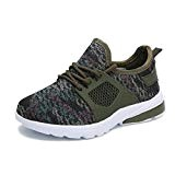 Hawkwell Chaussures de Sport Running Camouflage Sneakers Perméable Mixte Enfant Junior