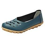 Heheja Mocassins pour Femme Loafers Casual Bateau Chaussures de Ville