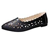 LUCKYCAT Prime Day Amazon, Sandales d'été Femme Chaussures de Été Sandales à Talons Chaussures Plates Talons Plats Peu Profonds Fleur ...