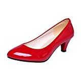 LUCKYCAT Prime Day Amazon, Sandales d'été Femme Chaussures de Été Sandales à Talons Chaussures platesNu Bouche Peu Profonde Bureaux Travailler ...