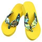 LUCKYCAT Prime Day Amazon, Sandales d'été Femme Chaussures de Été Sandales à Talons Chaussures Plates Plate-Forme en Forme de cale ...
