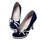 LUCKYCAT Prime Day Amazon, Sandales d'été Femme Chaussures de Été Sandales à Talons Chaussures Plates Circulaire Chaussures D'orteil Nœud Papillon ...