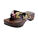 LUCKYCAT Prime Day Amazon, Sandales d'été Femme Chaussures de Été Sandales à Talons Chaussures Plates Chaussures à Plateforme Chaussures en ...