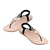 LUCKYCAT Sandales pour Femme, Prime Day Amazon Chaussures de Été Sandales à Talons Strass Hibou Sandales Sandales à Lanières Chaussures ...