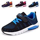 MAYZERO Chaussure de Course Sport Walking Shoes Running Compétition Entraînement Chaussure à la Mode, Sneakers Basket Chaussure Scolaire l'École pour ...