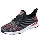 NEOKER Chaussures Homme Femme Baskets Running Shoes Sport Sneakers Fitness Respirant Légère Noir Bleu 36-46