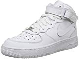 Nike Air Force 1 Mid (Gs), Chaussures de basketball mixte enfant