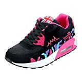 PADGENE Femme Baskets Course Gym Fitness Sport Chaussures Air