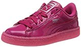 Puma Basket Patent Iced Glitter PS, Sneakers Basses Mixte Enfant