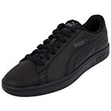 Puma Smash V2 L, Baskets Basses Mixte Adulte, Noir, 43 EU