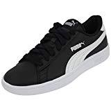 Puma Smash V2 L Jr, Sneakers Basses Mixte Enfant, White, 37 EU