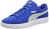 Puma Smash V2 SD Jr, Sneakers Basses Mixte Enfant, Noir/Blanc