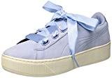 Puma Vikky Platform Ribbon S, Sneakers Basses Femme, Black Black, 36 EU