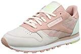 Reebok Cl LTHR PM, Chaussures de Running Femme, Bleu