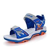 Sandales de Garçon Été Sandales de Marche Plates Mixte Enfant d'été Sandales Bout Ouvert
