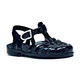 Sandales mixte en plastique noir