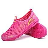 Slip Mesh Water Shoes pour Femmes sur Les Baskets Respirantes Légères et Décontractées