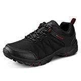 UBFEN Homme Chaussures de Sport Randonnée Basses Sneakers Chaussure de Trail Plein Running Mesh Respirante Noir Gris EU 40 C ...