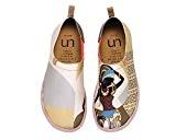 UIN Beauté africaine Chaussures de toiles à la mode beige pour femme