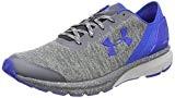 Under Armour UA Charged Escape, Chaussures de Running Compétition Homme, Gris/Bleu